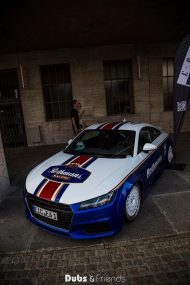 EAH Customs Rothmans Style Audi TT HRE Tuning 1 190x285 Neue Optik   EAH Customs Rothmans Style Audi TT auf  Super + MSP Alu's