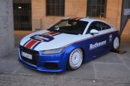 EAH Customs Rothmans Style Audi TT HRE Tuning 14 190x126 Neue Optik   EAH Customs Rothmans Style Audi TT auf  Super + MSP Alu's
