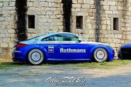 EAH Customs Rothmans Style Audi TT HRE Tuning 18 190x127 Neue Optik   EAH Customs Rothmans Style Audi TT auf  Super + MSP Alu's