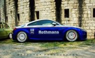 EAH Customs Rothmans Style Audi TT HRE Tuning 19 190x116 Neue Optik   EAH Customs Rothmans Style Audi TT auf  Super + MSP Alu's