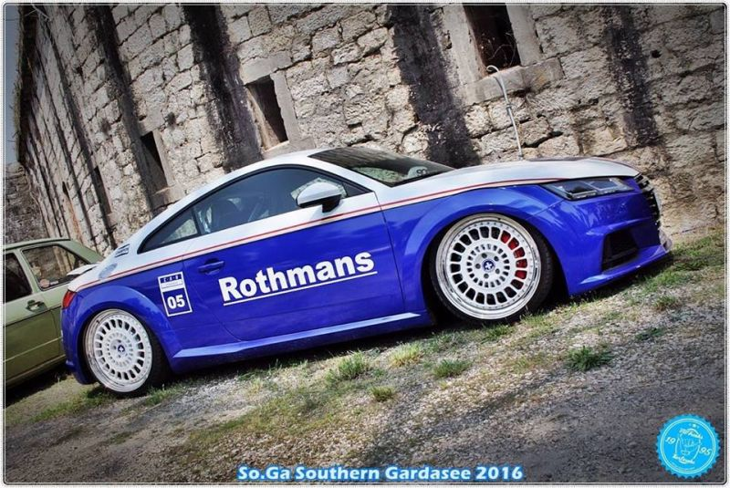 EAH Customs Rothmans Style Audi TT HRE Tuning 22 Neue Optik   EAH Customs Rothmans Style Audi TT auf  Super + MSP Alu's