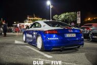 EAH Customs Rothmans Style Audi TT HRE Tuning 26 190x127 Neue Optik   EAH Customs Rothmans Style Audi TT auf  Super + MSP Alu's