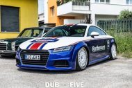 EAH Customs Rothmans Style Audi TT HRE Tuning 27 190x127 Neue Optik   EAH Customs Rothmans Style Audi TT auf  Super + MSP Alu's