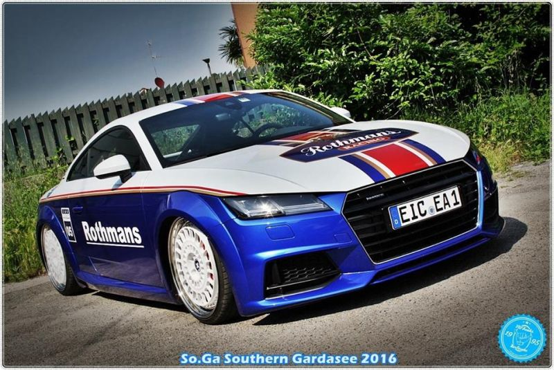 EAH Customs Rothmans Style Audi TT HRE Tuning 28 Neue Optik   EAH Customs Rothmans Style Audi TT auf  Super + MSP Alu's