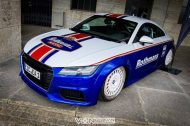 EAH Customs Rothmans Style Audi TT HRE Tuning 3 190x126 Neue Optik   EAH Customs Rothmans Style Audi TT auf  Super + MSP Alu's