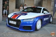 EAH Customs Rothmans Style Audi TT HRE Tuning 8 190x127 Neue Optik   EAH Customs Rothmans Style Audi TT auf  Super + MSP Alu's