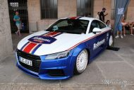 EAH Customs Rothmans Style Audi TT HRE Tuning 9 190x127 Neue Optik   EAH Customs Rothmans Style Audi TT auf  Super + MSP Alu's