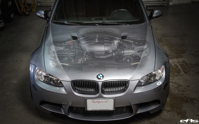 ESS Tuning VT2 625 Kompressor Kit BMW E92 M3 1 ESS Tuning VT2 625 Kompressor Kit im BMW E92 M3 von EAS