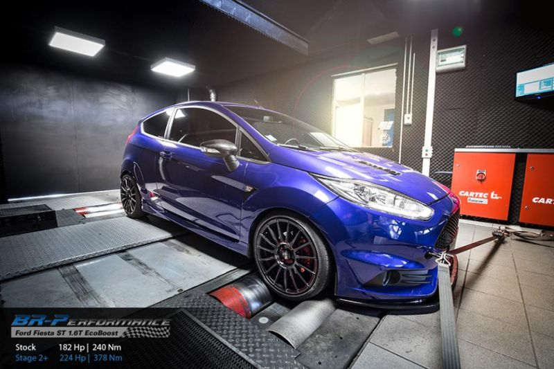 Ford Fiesta ST 1.6T Chiptuning OZ Felgen 1 BR Performance   Ford Fiesta ST 1.6T mit 224PS & 378NM