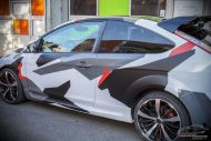 Ford Focus Camouflage Edition Folierung Tuning 3 190x127 Ford Focus mit Camouflage Edition Folierung by Check Matt Dortmund