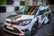 Ford Focus Camouflage Edition Folierung Tuning 5 190x127 Ford Focus mit Camouflage Edition Folierung by Check Matt Dortmund