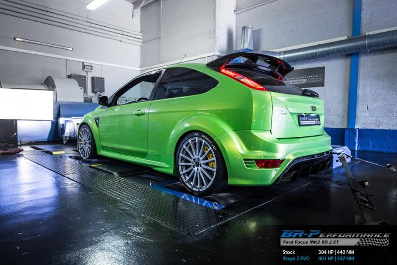 Ford Focus MK2 RS BR Performance Chiptuning 2 401PS & 597NM im Ford Focus MK2 RS von BR Performance