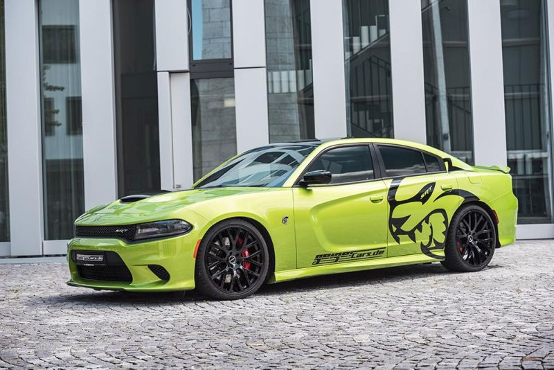GeigerCars Dodge Charger Hellcat tuning 2 GeigerCars puscht den Dodge Charger Hellcat auf 782PS