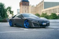German Special Customs GSC BMW i8 Mattgrau 1 190x127 Fotostory: German Special Customs (GSC) BMW i8 in Mattgrau