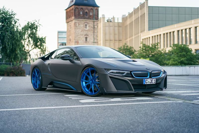 German Special Customs GSC BMW i8 Mattgrau 1 Fotostory: German Special Customs (GSC) BMW i8 in Mattgrau
