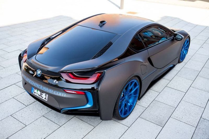 German Special Customs GSC BMW i8 Mattgrau 2 Fotostory: German Special Customs (GSC) BMW i8 in Mattgrau