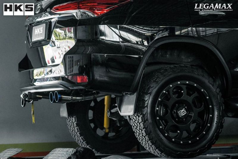 HKS - Thailand Co.,ltd. - Toyota Fortuner W-Tail Tuning (2)