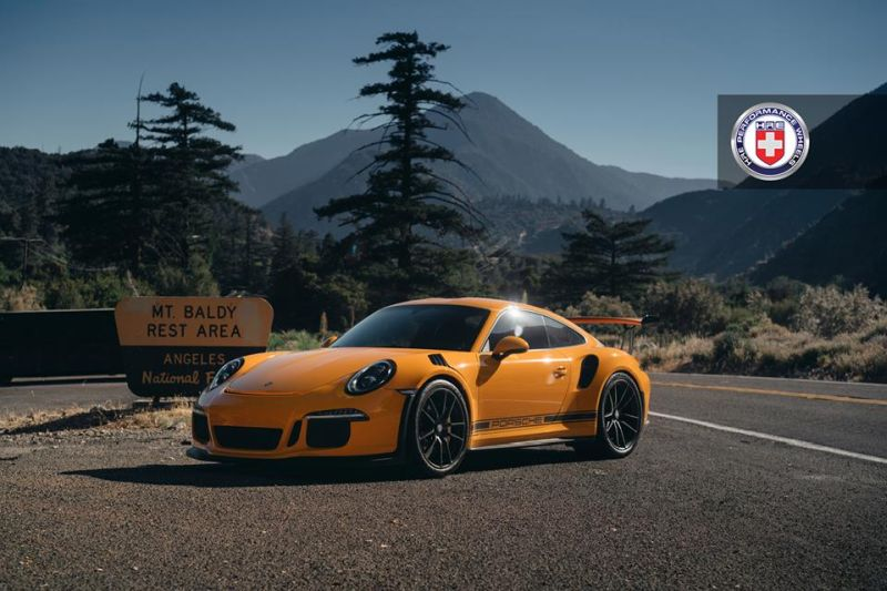 HRE P101 Porsche 911 991 GT3 RS Orange Tuning 1 HRE P101 Alufelgen am Porsche 911 GT3 RS in Orange