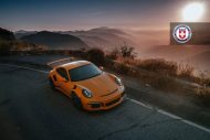 HRE P101 Porsche 911 991 GT3 RS Orange Tuning 3 190x127 HRE P101 Alufelgen am Porsche 911 GT3 RS in Orange