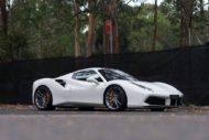 HRE Performance Wheels P104 am Ferrari 488 GTB 6 190x127 Dezenter Style   HRE Performance Wheels P104 am Ferrari 488 GTB