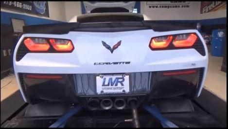 LMR 2016 Chevrolet Corvette Z06 LMR750 Video: 642PS am Rad   LMR 2016 Chevrolet Corvette Z06 LMR750