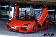 Lamborghini Aventador LP700 4 orange tuning 2 190x126 Unübersehbar   Lamborghini Aventador LP700 4 by 01Executive (EXE)