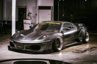 Liberty Widebody Ferrari F430 Forgiato Tuning 1 1 e1474528549521 190x126 Fett   Liberty Walk Performance Widebody Ferrari F430