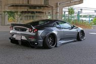 Liberty Widebody Ferrari F430 Forgiato Tuning 10 190x127 Fett   Liberty Walk Performance Widebody Ferrari F430