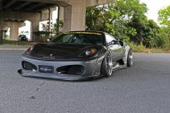 Liberty Widebody Ferrari F430 Forgiato Tuning 12 190x127 Fett   Liberty Walk Performance Widebody Ferrari F430