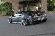 Liberty Widebody Ferrari F430 Forgiato Tuning 15 190x127 Fett   Liberty Walk Performance Widebody Ferrari F430