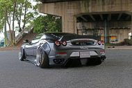 Liberty Widebody Ferrari F430 Forgiato Tuning 16 190x127 Fett   Liberty Walk Performance Widebody Ferrari F430