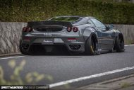 Liberty Widebody Ferrari F430 Forgiato Tuning 3 1 190x127 Fett   Liberty Walk Performance Widebody Ferrari F430