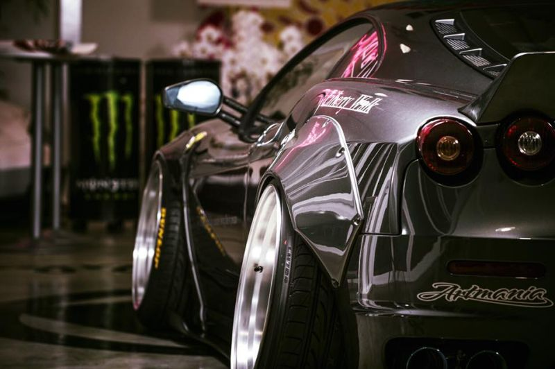 Liberty Widebody Ferrari F430 Forgiato Tuning 3 Fett   Liberty Walk Performance Widebody Ferrari F430