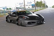 Liberty Widebody Ferrari F430 Forgiato Tuning 7 1 190x127 Fett   Liberty Walk Performance Widebody Ferrari F430