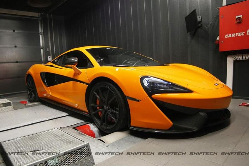 McLaren 570S Chiptuning by Shiftech Lyon 1 McLaren 570S mit starken 649PS & 748NM by Shiftech Lyon