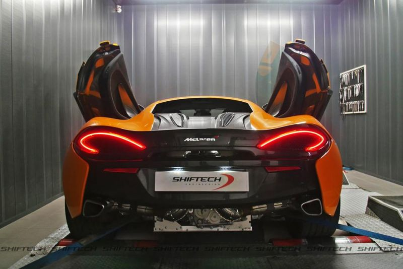 McLaren 570S Chiptuning by Shiftech Lyon 6 McLaren 570S mit starken 649PS & 748NM by Shiftech Lyon