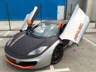 McLaren MP4 12c Wrap Folierung Tuning 1 190x143 McLaren MP4 12c   auffällige Folierung by BB Folien Bele Boštjan