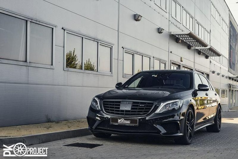 Mercedes Benz S63 AMG W222 21 Zoll HRE P107 1 Fotostory: Mercedes Benz S63 AMG auf 21 Zoll HRE P107 Alu's