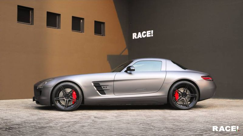 Mercedes Benz SLS AMG ADV.1 Wheels Tuning 3 Mercedes Benz SLS AMG auf ADV.1 Wheels by RACE! South Africa