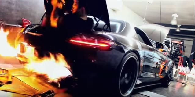 Mercedes Benz SLS AMG Bi Turbo mit 900PS Video: Mercedes Benz SLS AMG Bi Turbo mit 900PS
