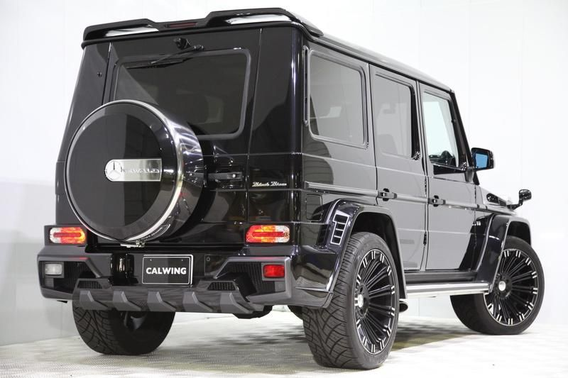 mercedes g klasse g550l black bison tuning bodykit 7. Black Bedroom Furniture Sets. Home Design Ideas