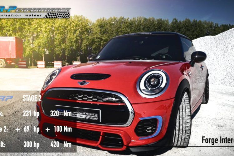 Mini JCW BR Performance Chiptuning Video: 300PS & 420NM im Mini JCW von BR Performance