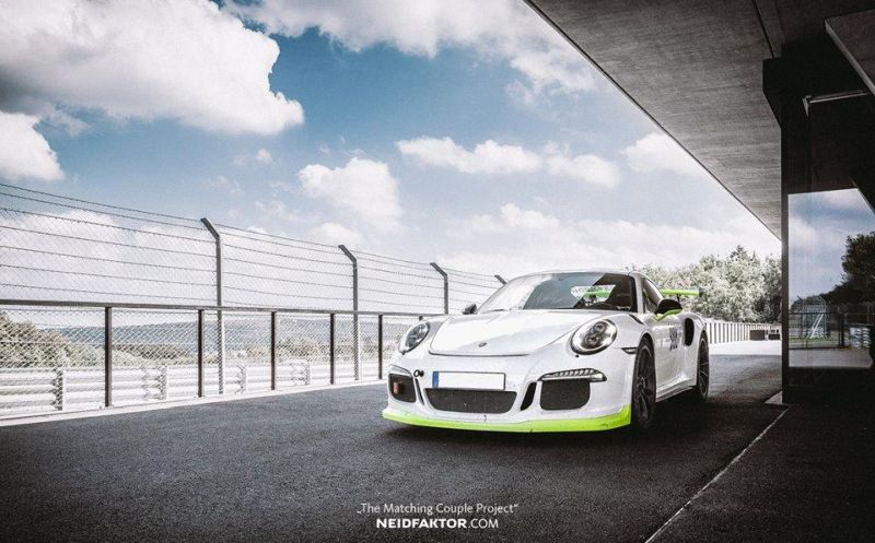 Neidfaktor Porsche GT3 RS 991 Tuning 2 Neidfaktor 2x Porsche GT3 RS (991)   The Matching Couple Project