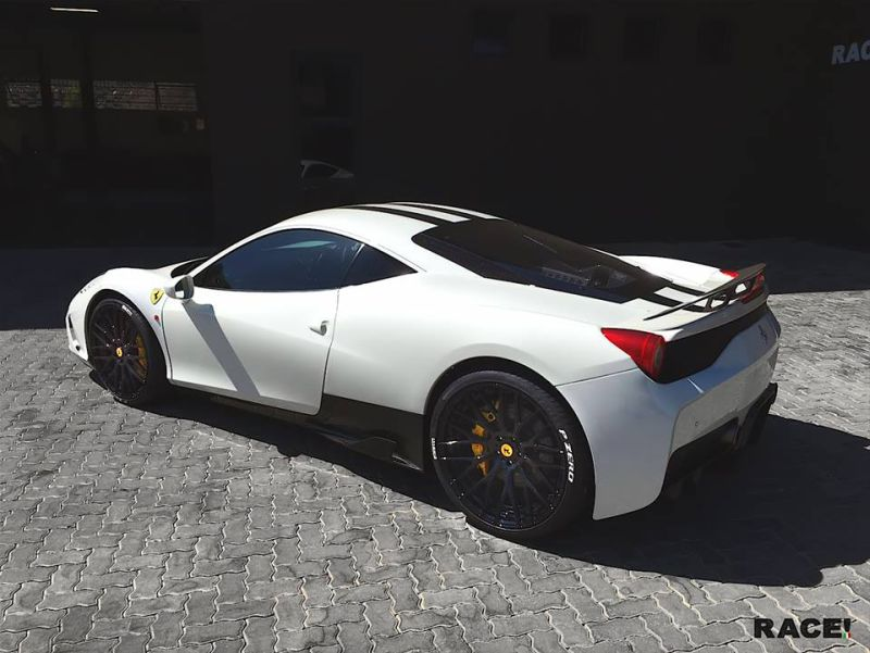 Photo Story Ferrari 458 Speciale On Adv 1 Wheels By Race South Africa