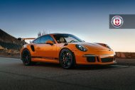 Orange Porsche 991 GT3 RS HRE P104 Wheels 1 1 190x127 HRE Performance Wheels P104 am Porsche 991 GT3 RS in Orange