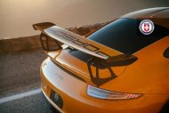 Orange Porsche 991 GT3 RS HRE P104 Wheels 10 190x127 HRE Performance Wheels P104 am Porsche 991 GT3 RS in Orange