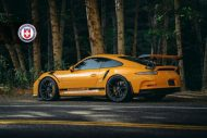 Orange Porsche 991 GT3 RS HRE P104 Wheels 4 190x127 HRE Performance Wheels P104 am Porsche 991 GT3 RS in Orange