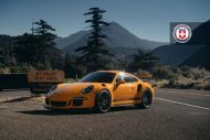 Orange Porsche 991 GT3 RS HRE P104 Wheels 5 190x127 HRE Performance Wheels P104 am Porsche 991 GT3 RS in Orange