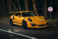Orange Porsche 991 GT3 RS HRE P104 Wheels 7 190x127 HRE Performance Wheels P104 am Porsche 991 GT3 RS in Orange