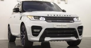 Overfinch Range Rover Sport Tuning 2016 Bodykit 1 1 e1474008213471 310x165 Overfinch Soft Top Land Rover Defender D90 mit V8!